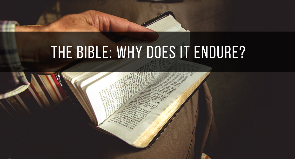 The Bible: Why Does It Endure? thumbnail image