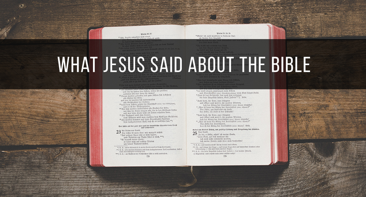 What Jesus Said About The Bible thumbnail image